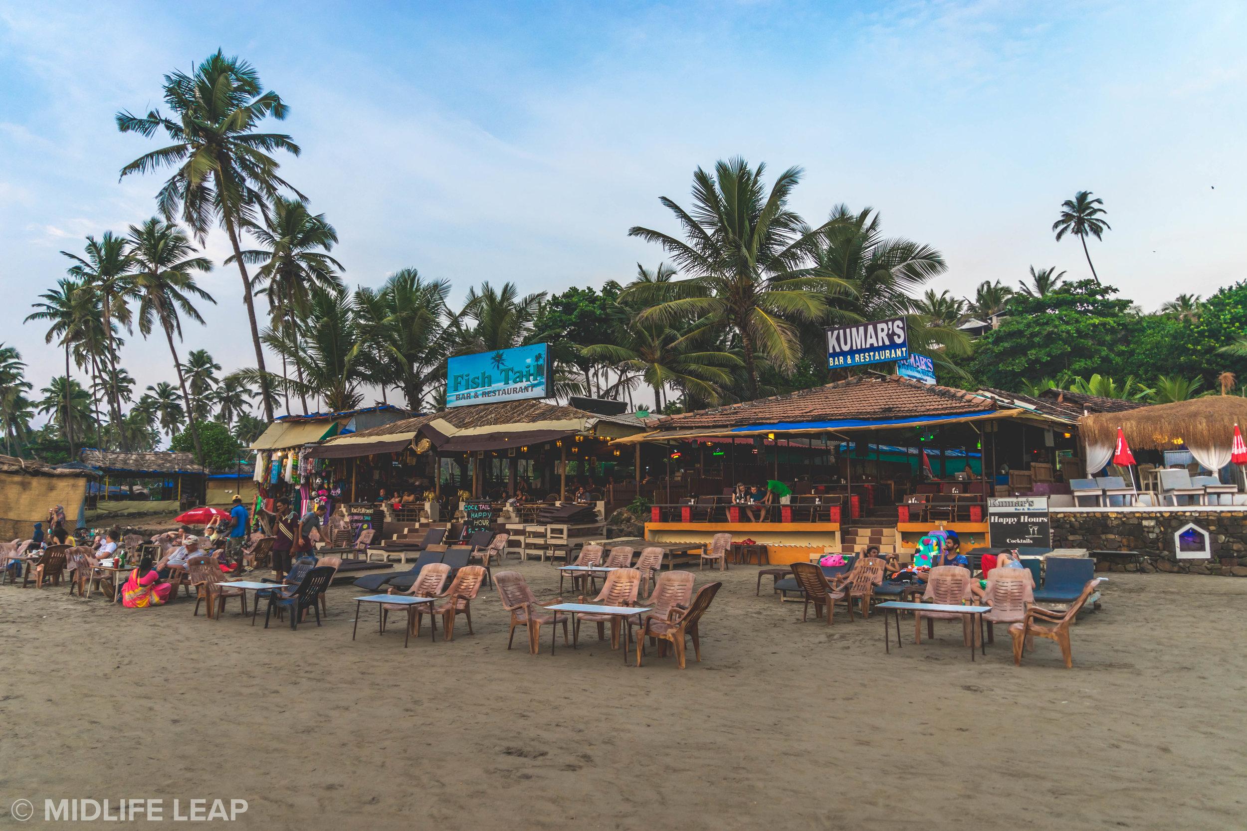 Kumar's! Best spot for dinner, drinks, and sunsets!