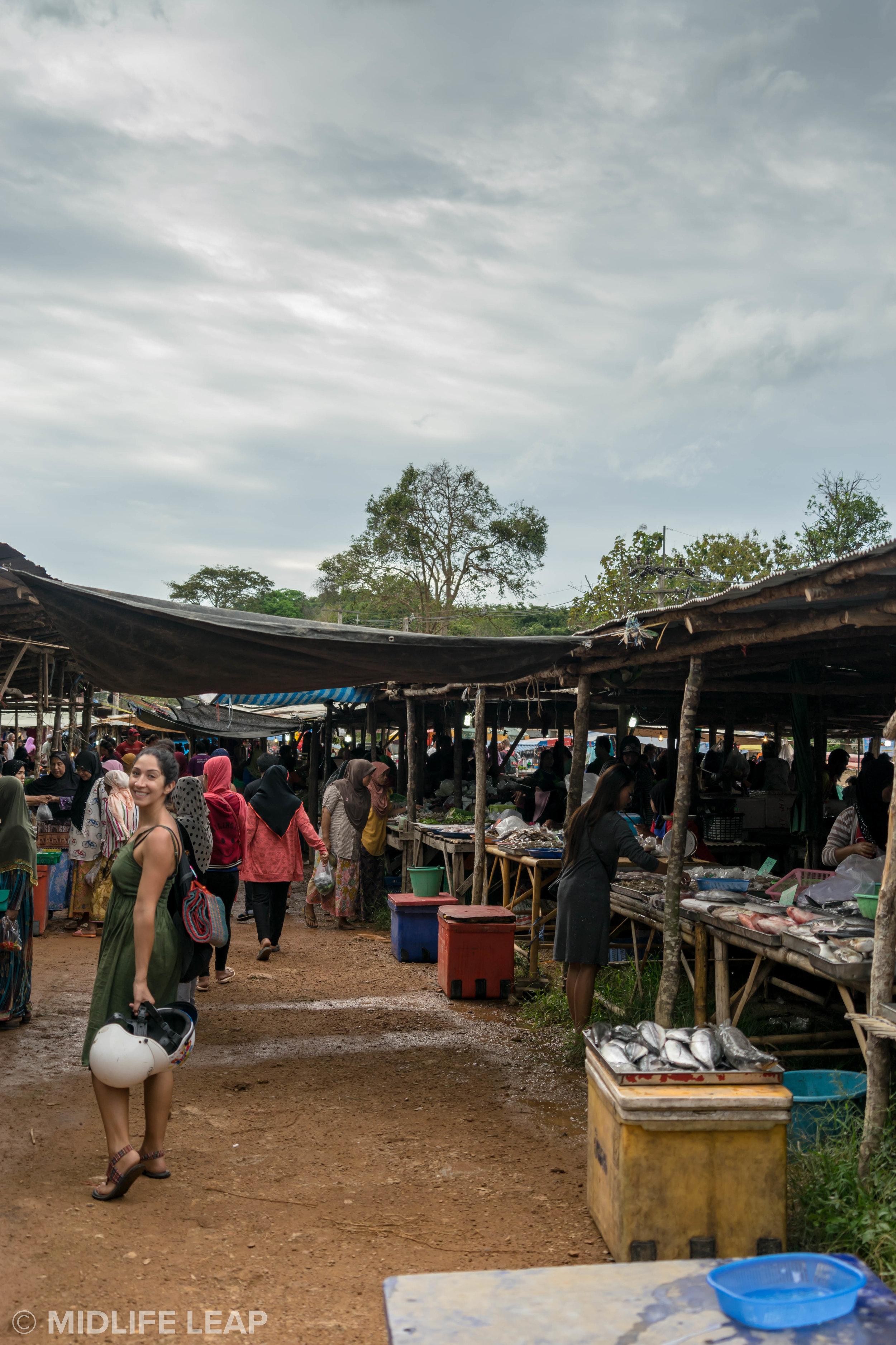 Exploring a local market