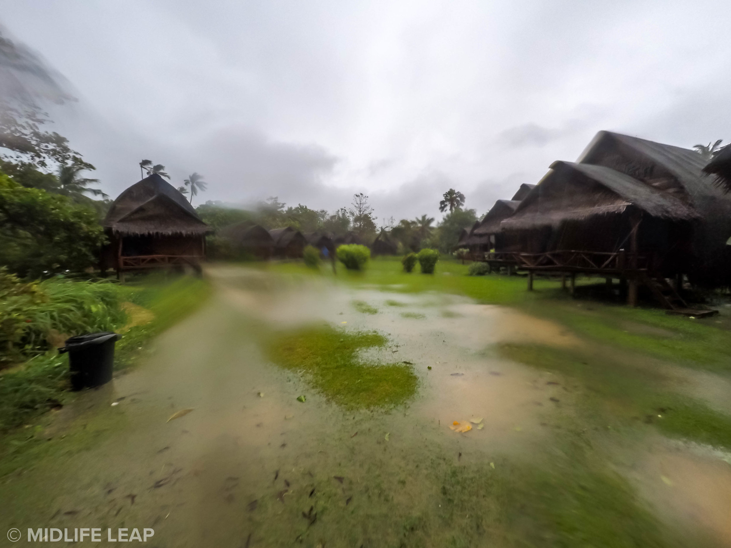 It was so much worse than this! (Taken with our GoPro)