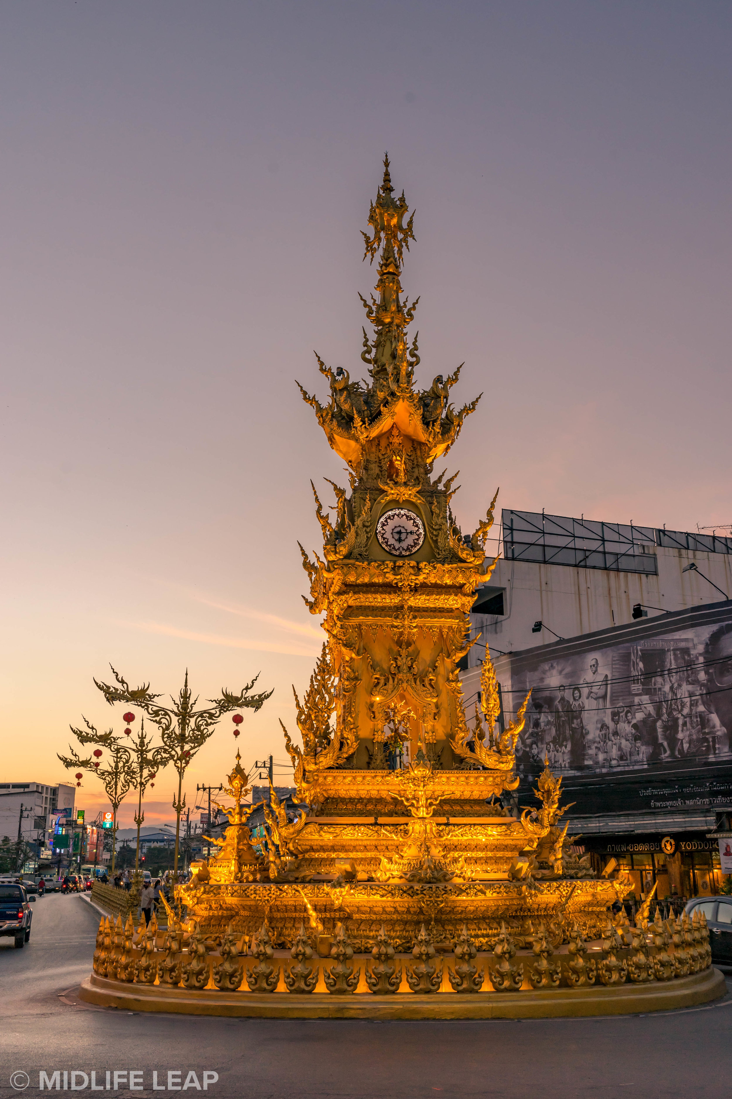 The Chiang Rai Clock Tower