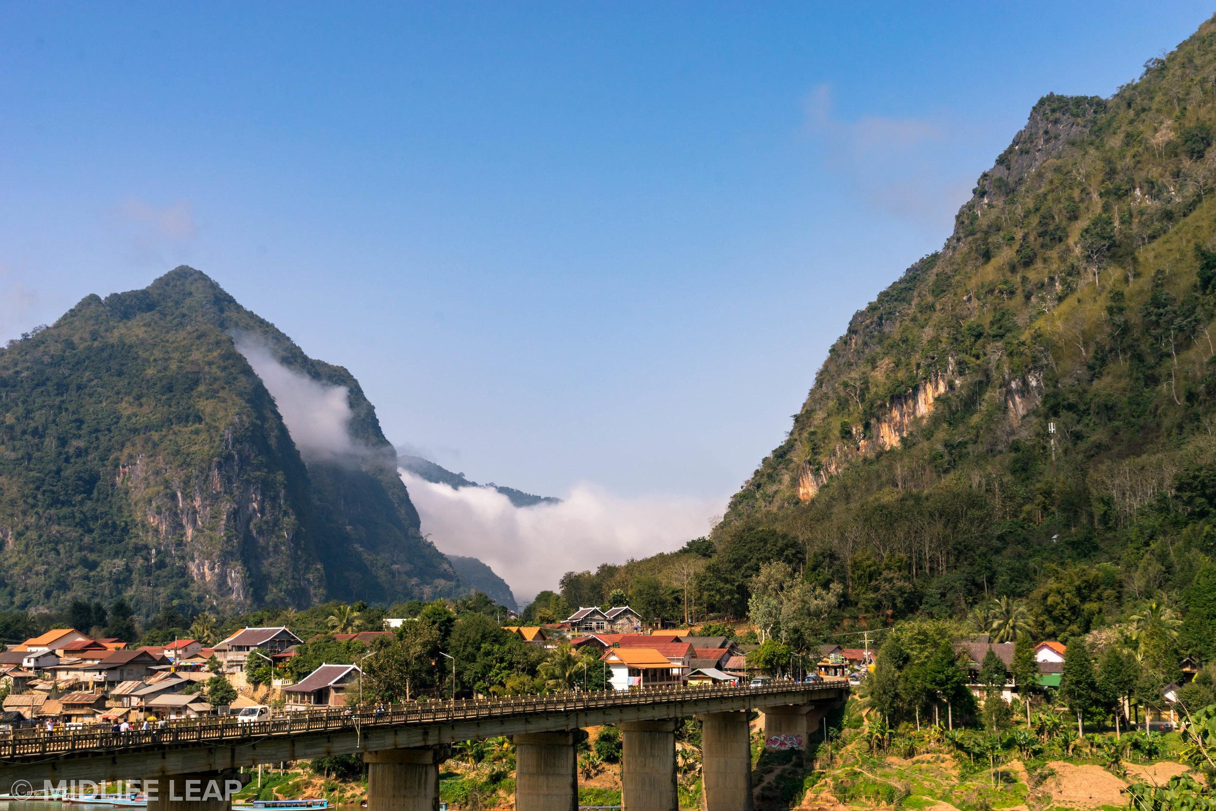 The Nong Khiaw Bridge