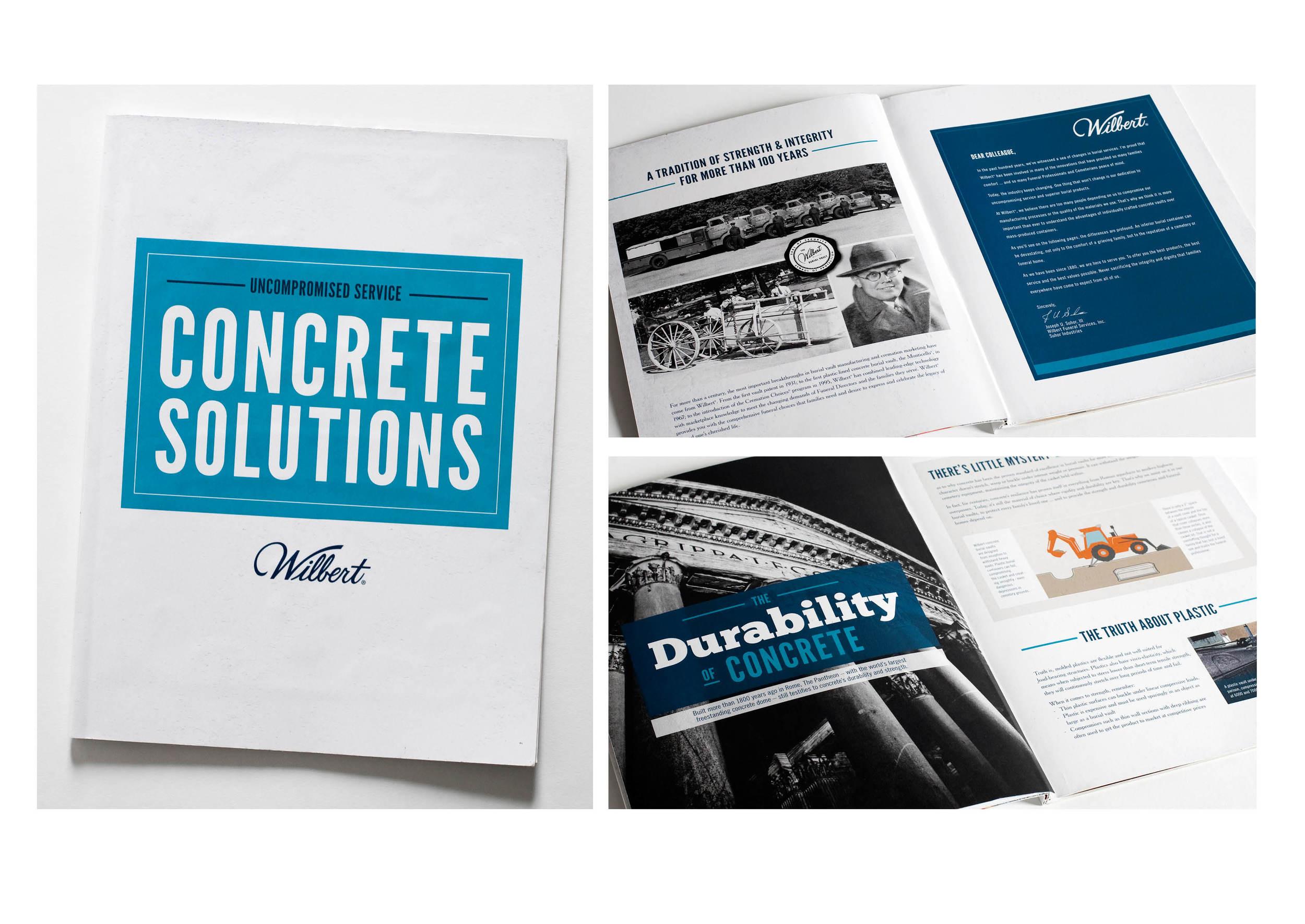 Wilbert | Concrete Solutions Brochure | tashvock.com