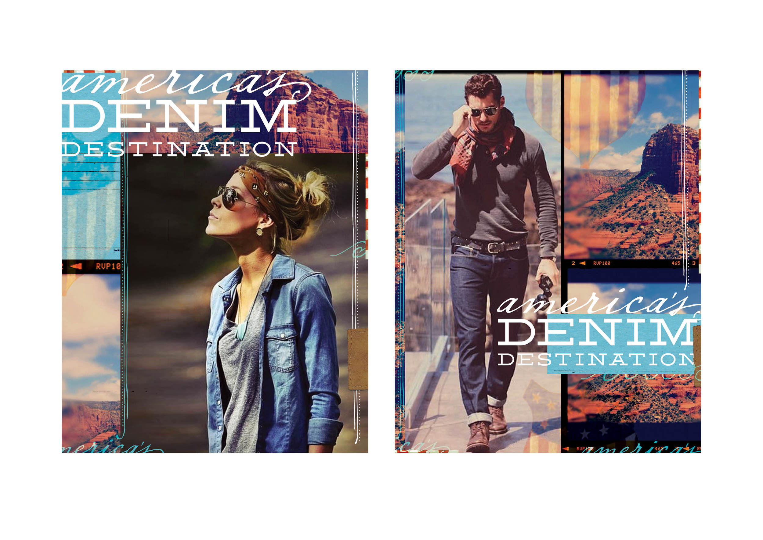 Buckle | America's Denim Destination Window Banner Concept | tashvock.com