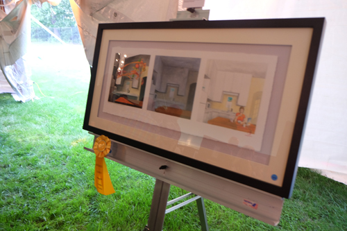Third Place, Quincy Art Association Members, Watercolor