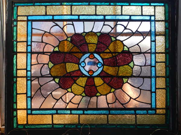 A restored window from a house in Cambridge Massachusetts.