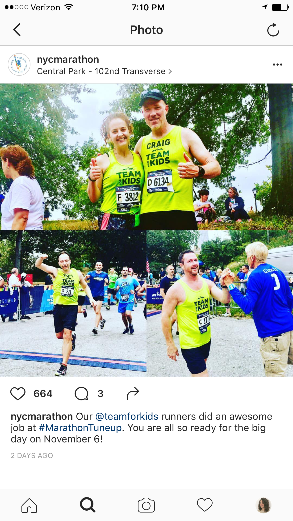 @nycmarathon Feature!