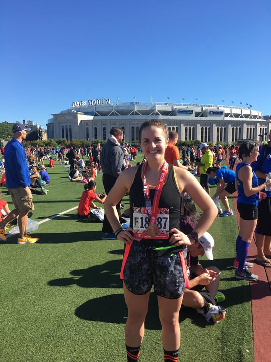 New Balance Bronx 10 Mile   Results  :   1:28:57     Pace Per Mile  : 08:54