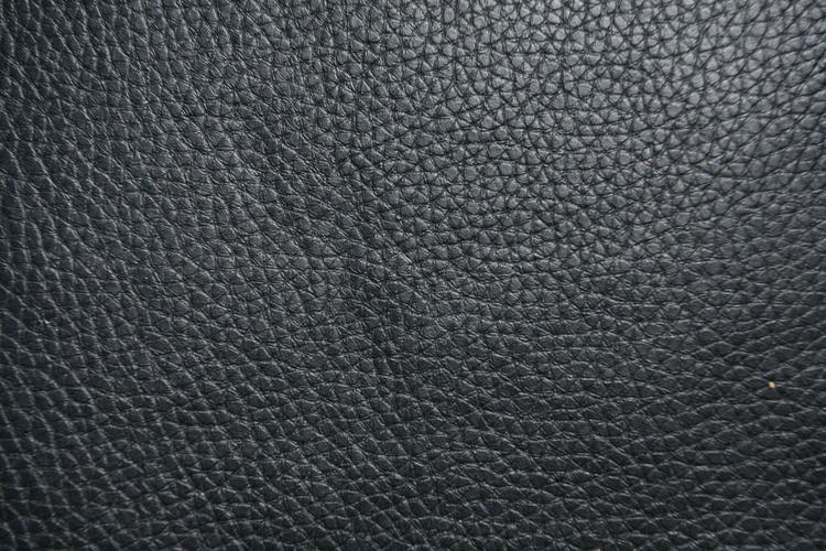Black Textured Leather Vinyl