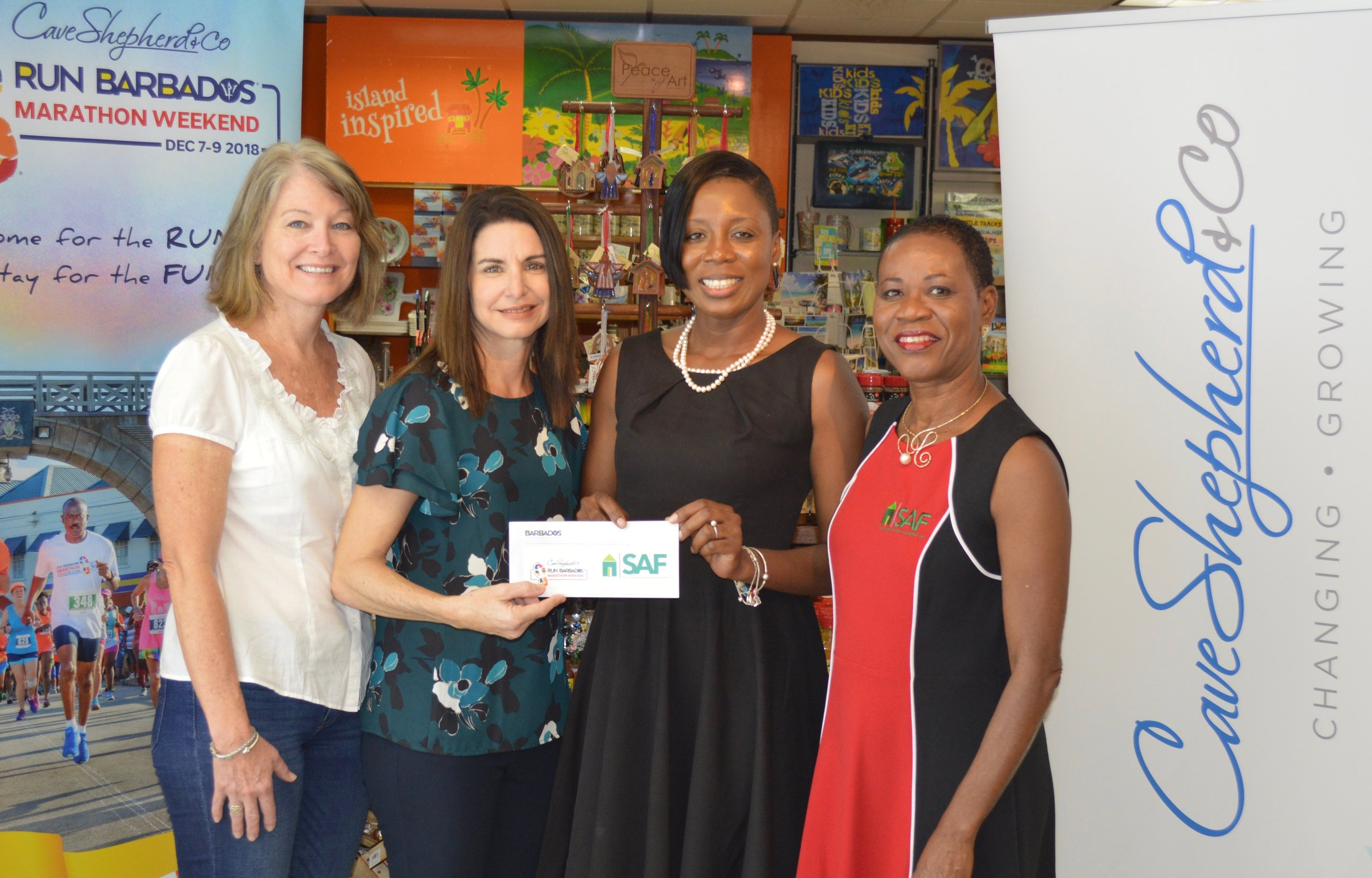 Presentation of funds from Run Barbados (Support The SAF).jpg