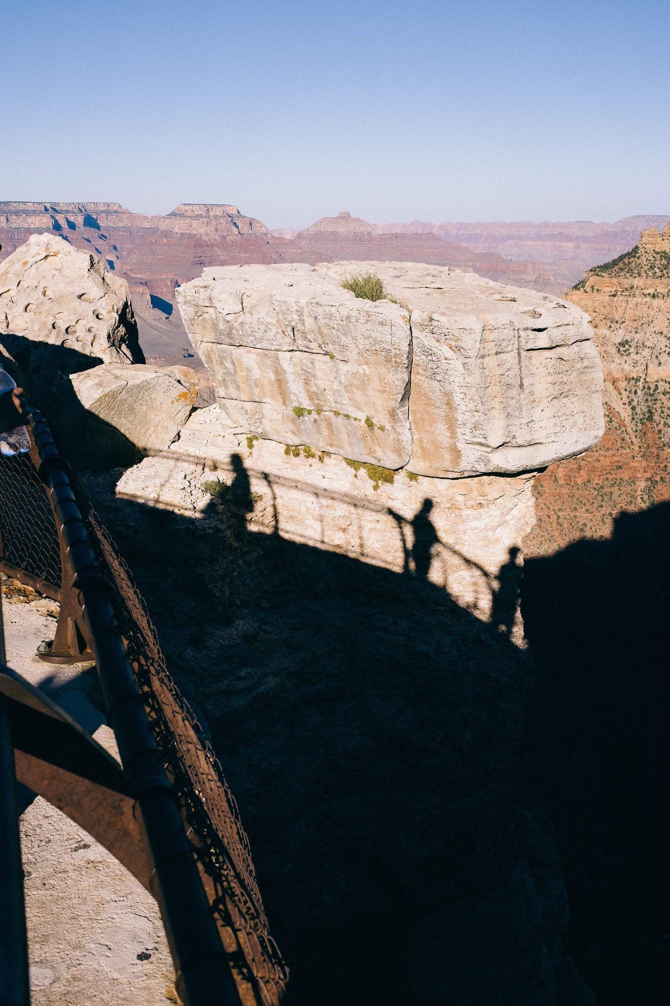 Shadows at Grand Canyon