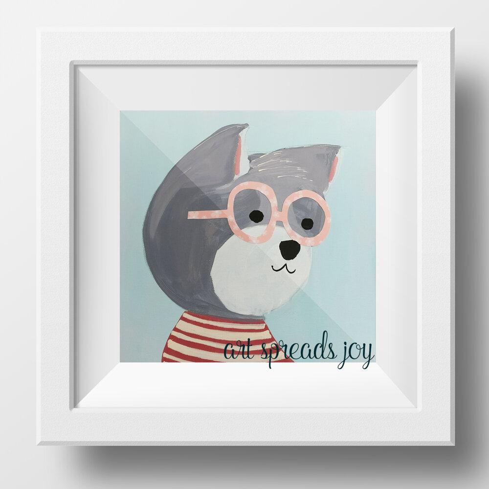 Snazzy-Animals-10-Katie-Erickson_Wall-Art-Kids-Print-Cats-Dogs.jpg