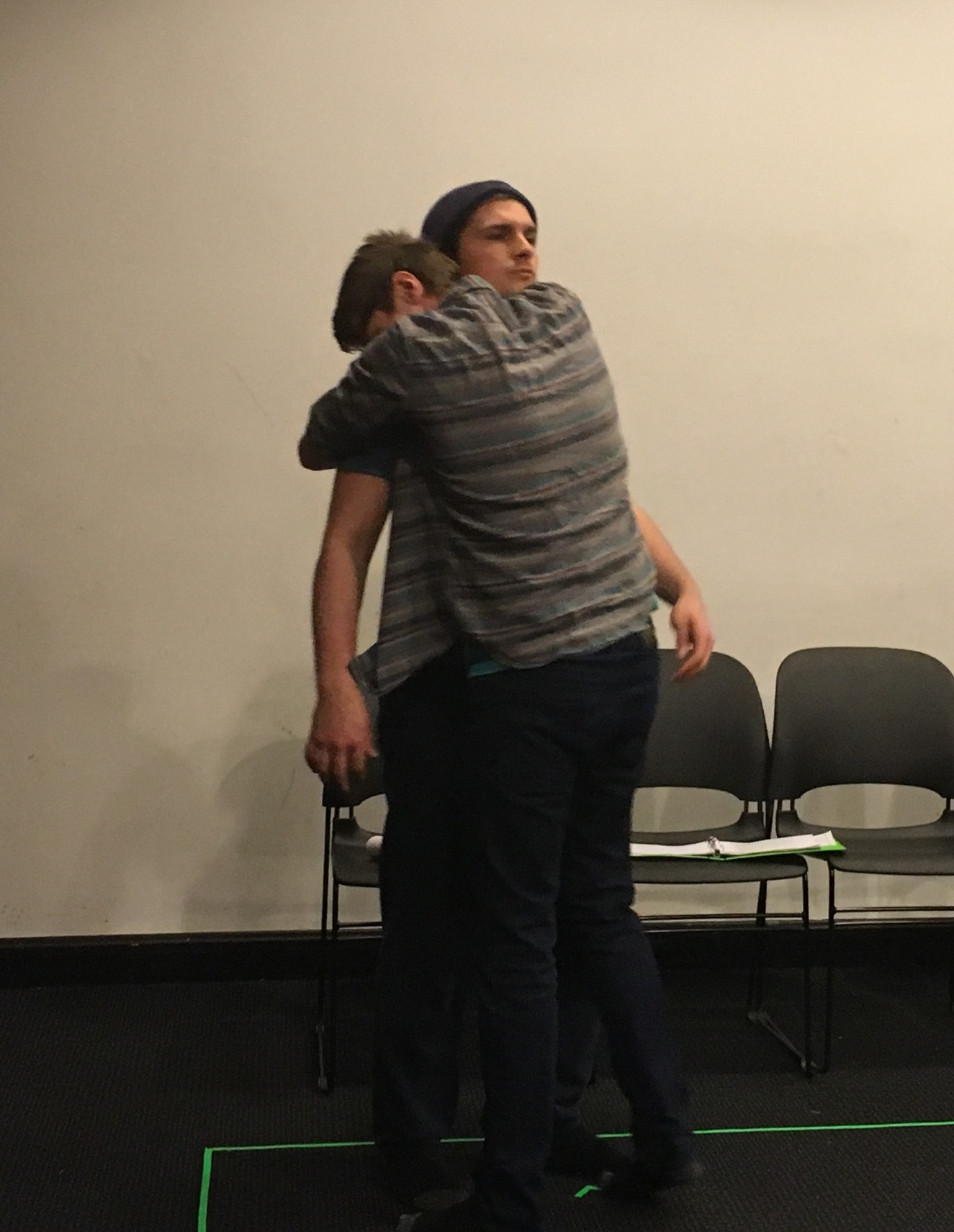 Brandon Nelson and Jacob Huddilston   as CARL and THE THIRD MAN