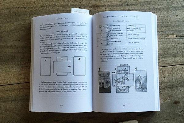 Four-card spread,   Holistic Tarot