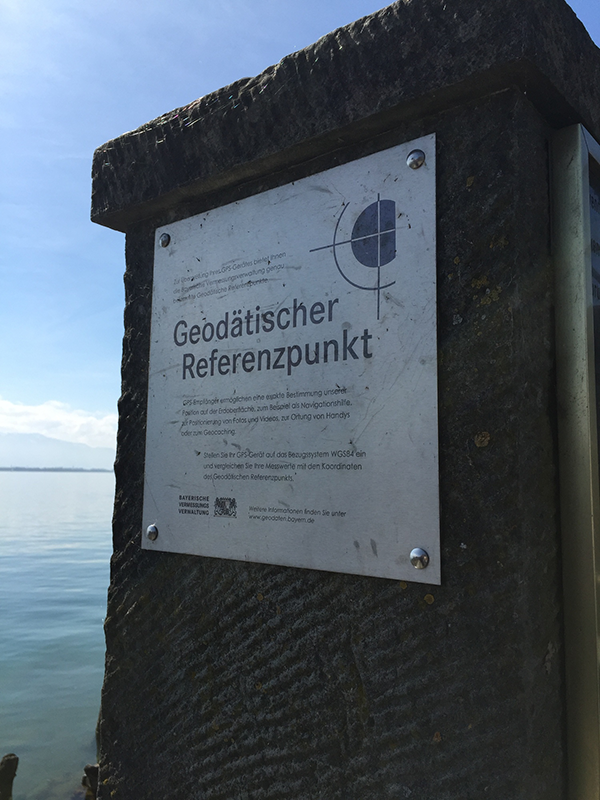 Geodata reference point