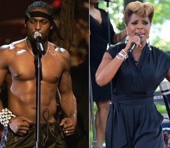 Mary J. Blige & D'Angelo (8/28/12)