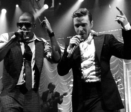 Justin Timberlake and Jay Z (8/9/13)