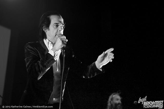 Nick Cave and the Bad Seeds & Sharon Van Etten (3/22/13)