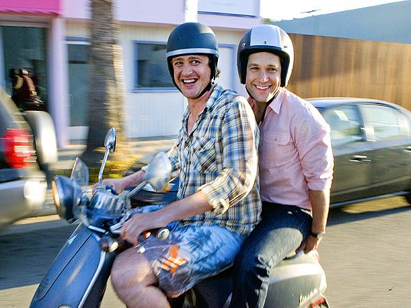 Paul Rudd & Jason Segel (3/23/09)