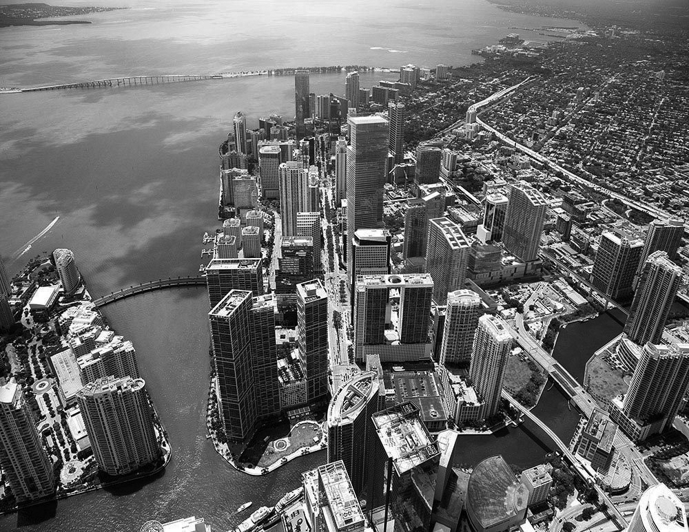 Royalty Free Image / Aerial view of Miami