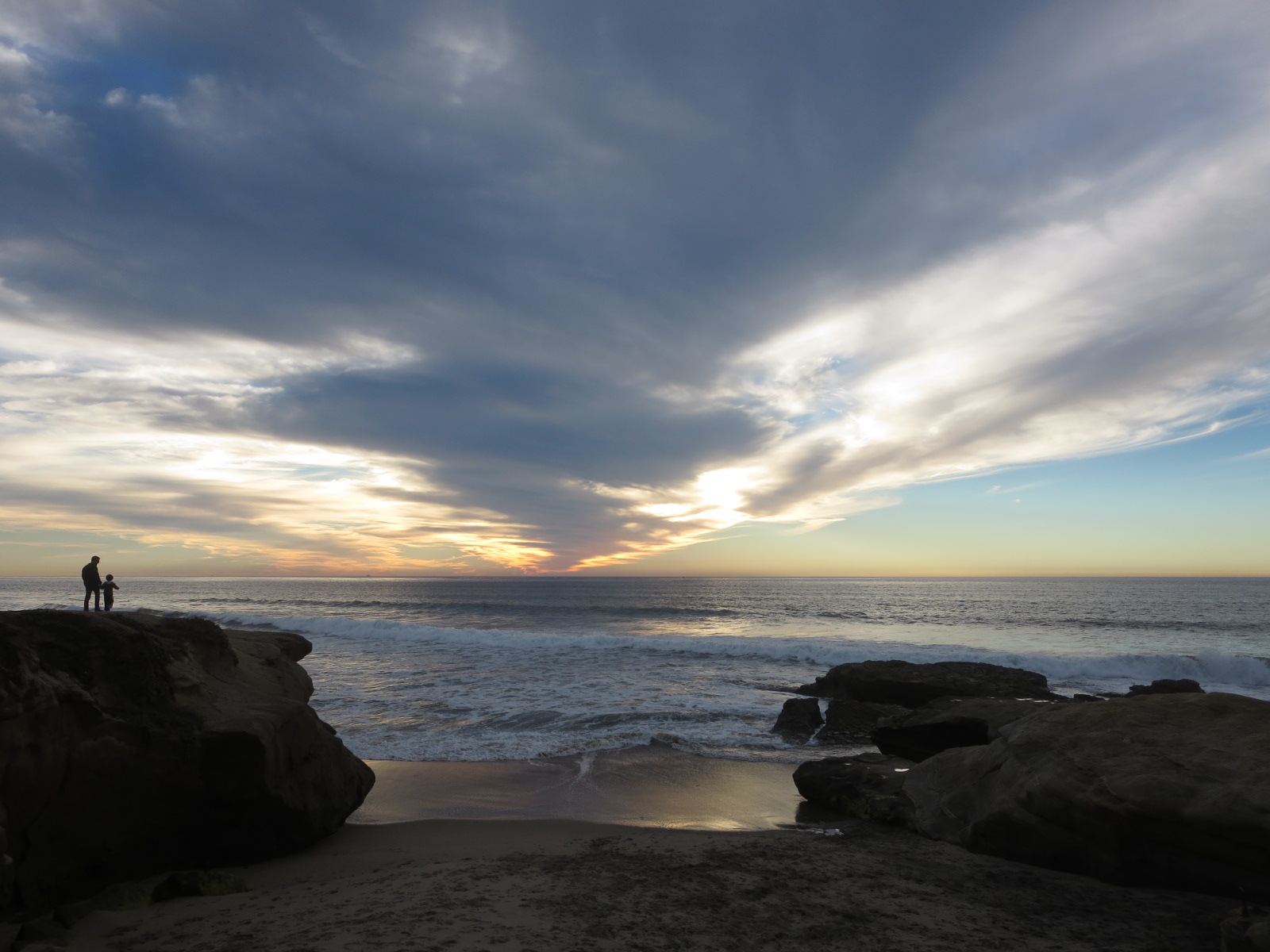 Sunset Cliffs, San Diego, CA,USA.