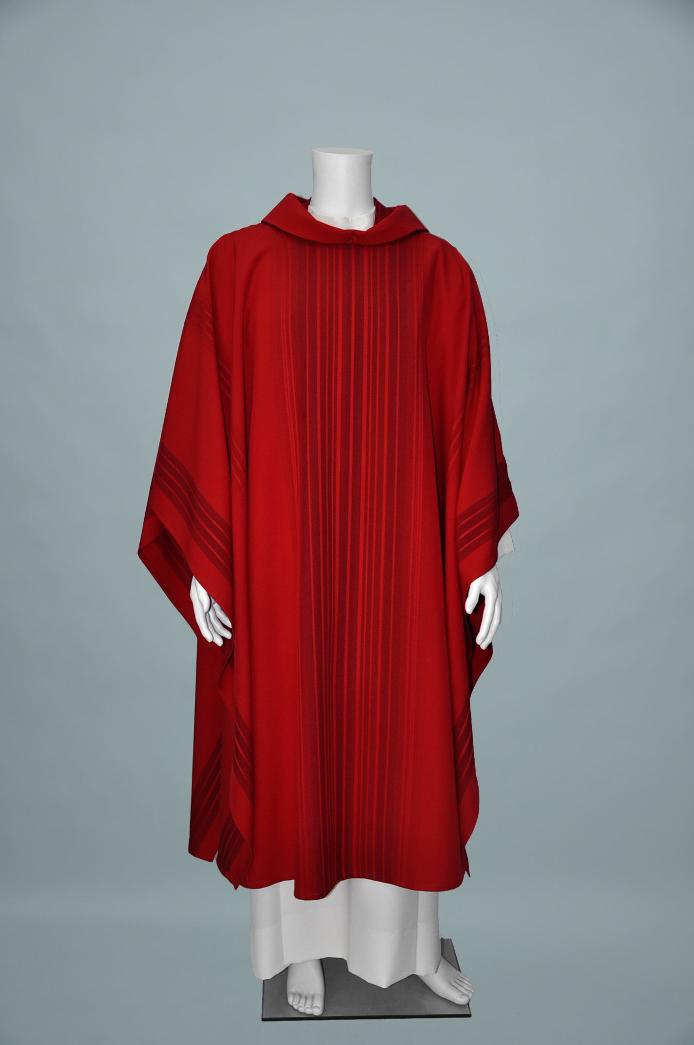 RED MONE CHASUBLE & STOLE (F) 1