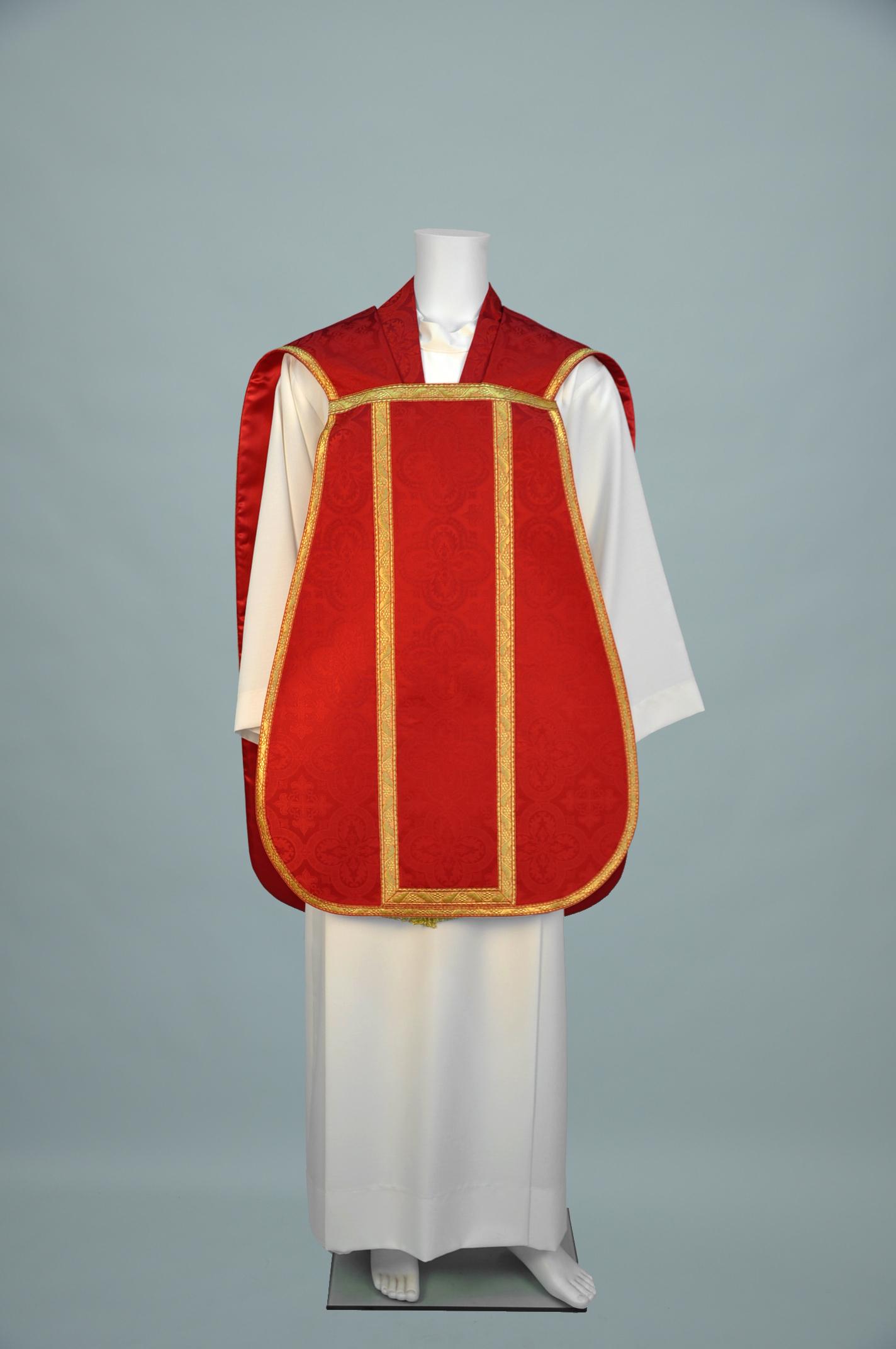 Roman Chasuble Davinci Red w 140 red gold (f) 1.jpg