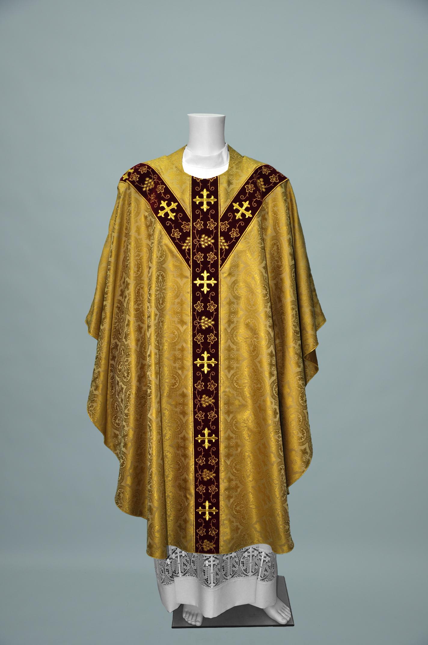 Gothic Chasuble Davinci Gold W R1282 burgundy gold (f) 2.jpg