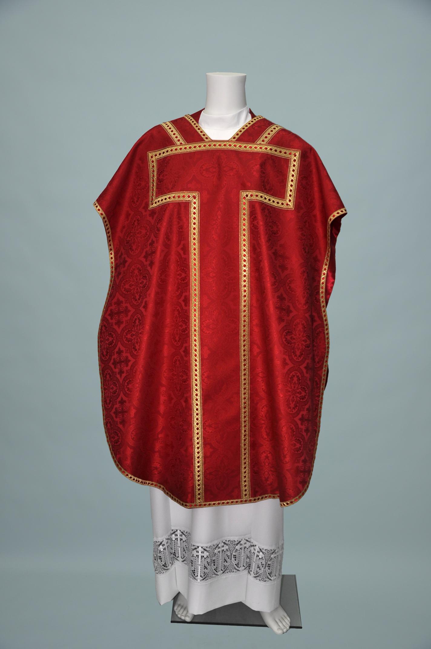 St Philip Neri Davinci Red W 2326 red gold (f)1.jpg
