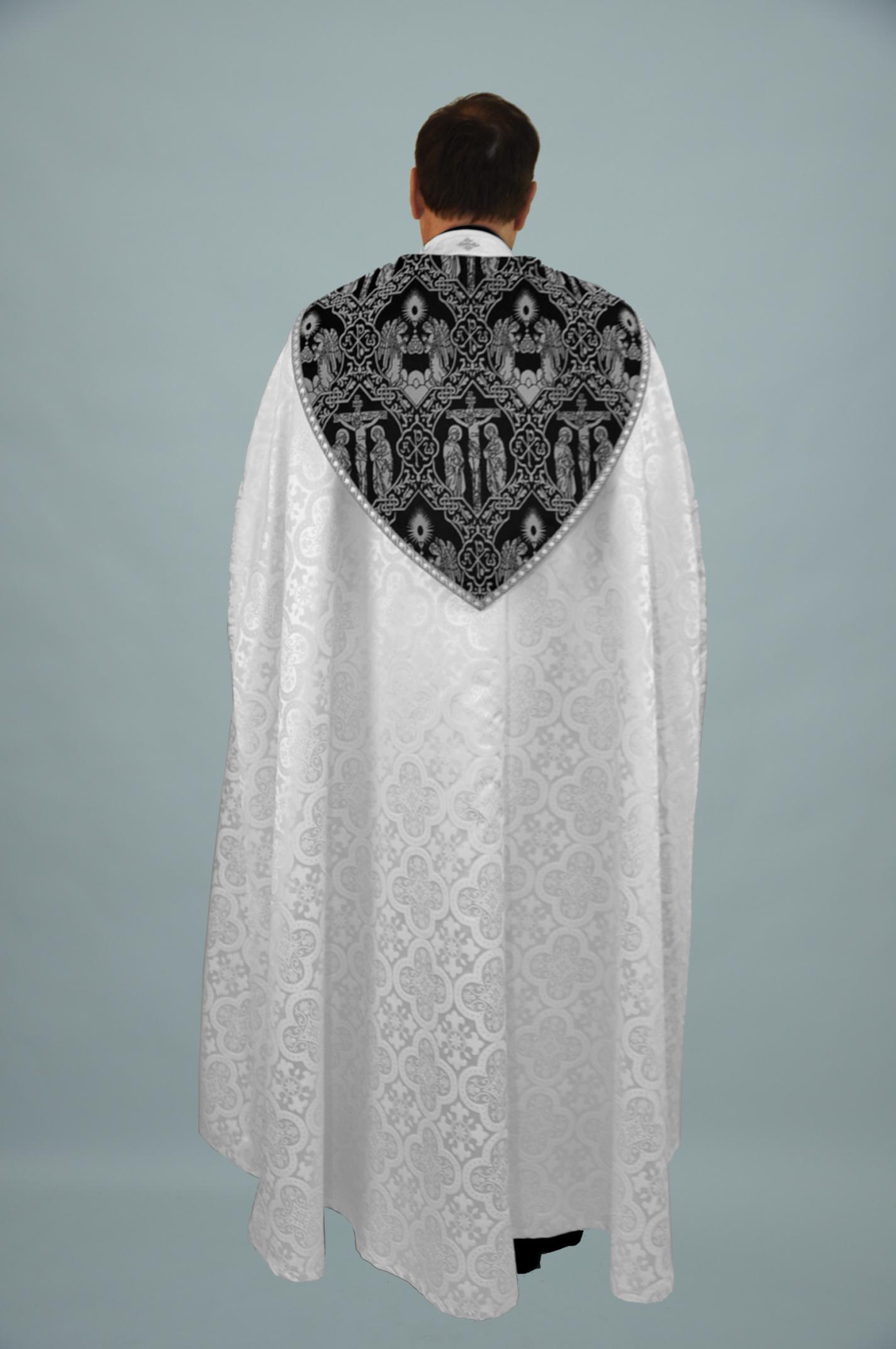 M2 Cope Trinity White w Crucifixion black silver & 2326 silver (b) 1.jpg
