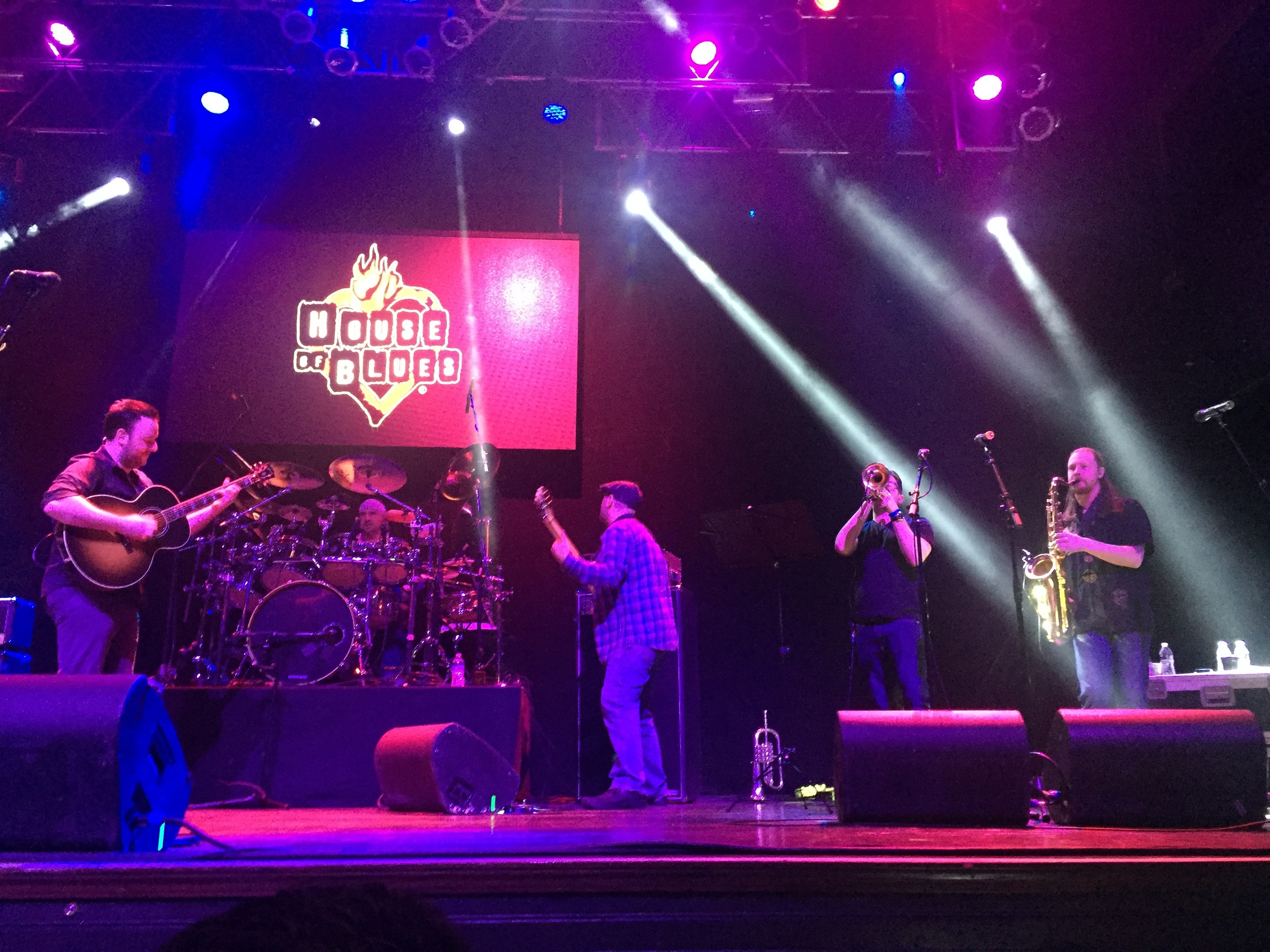Performing at The House Of Blues, Las Vegas