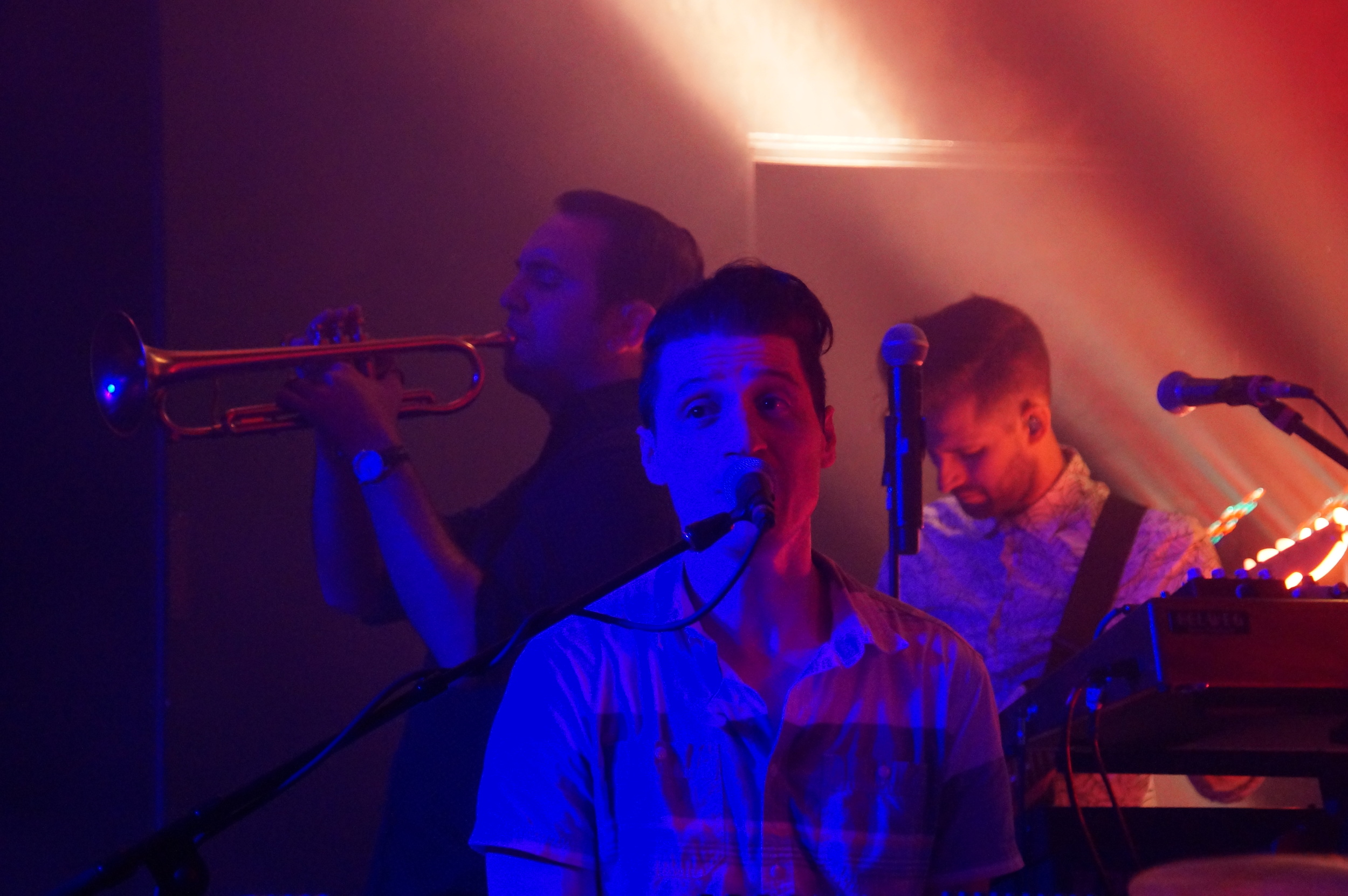 Performing with MuteMath
