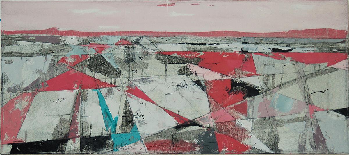 "Landscape Study #54, 16"" x 36"", o/c"