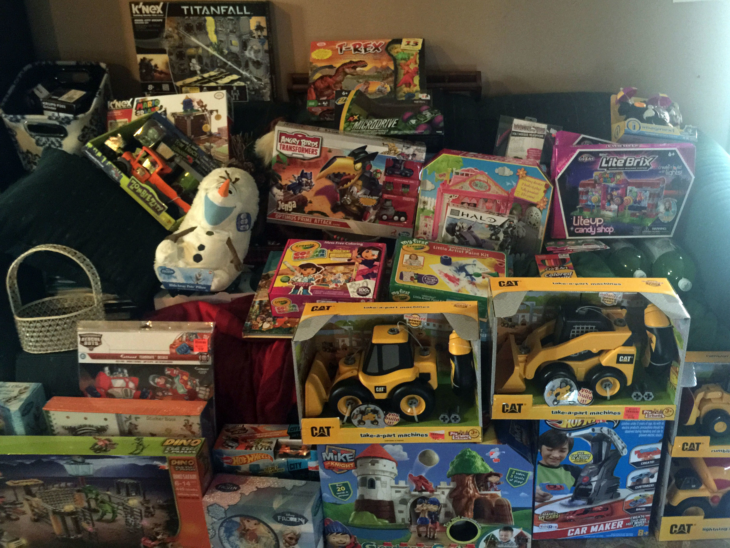 RAPP Christmas Toy Donations