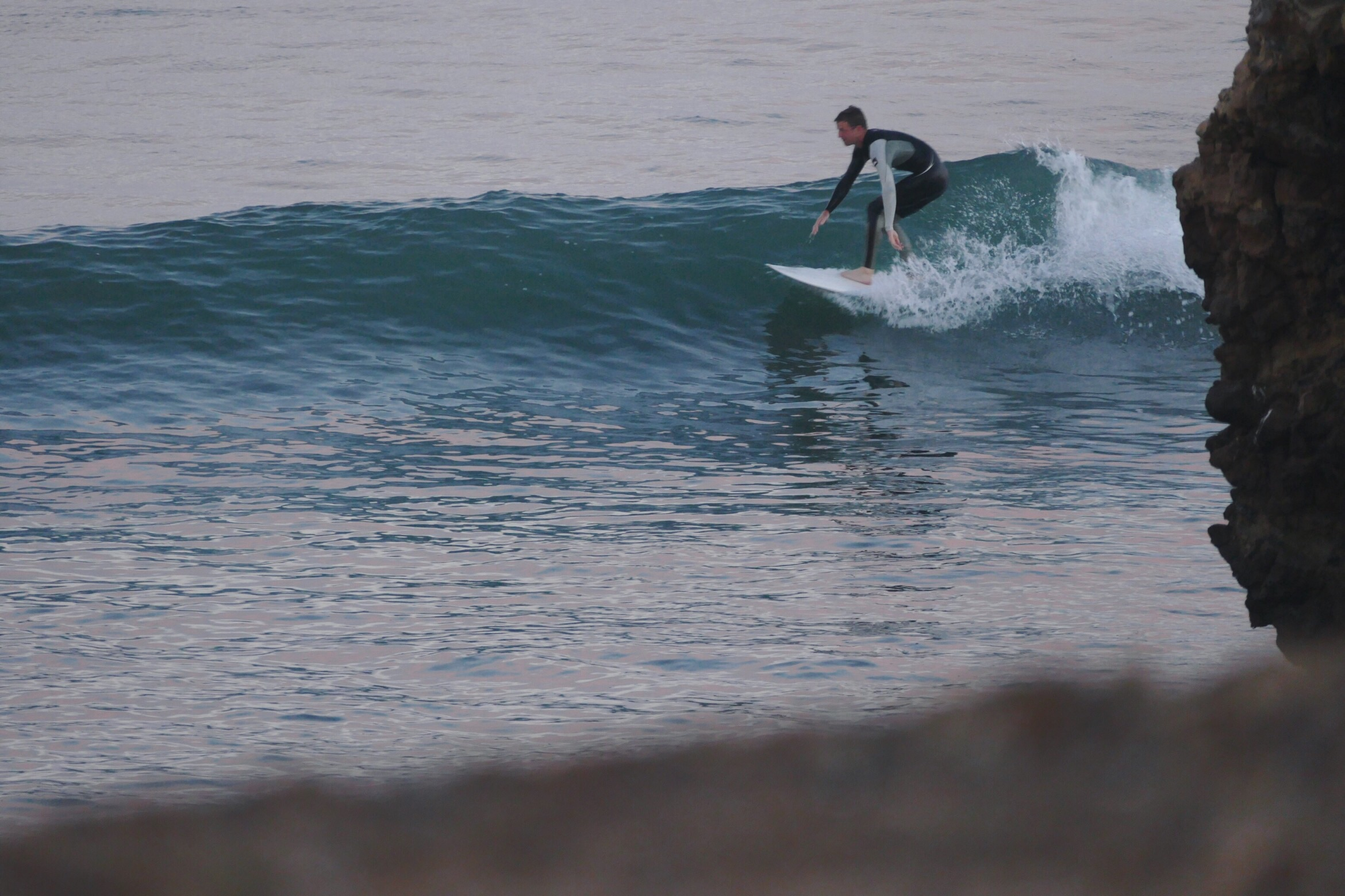 Corey Menzies photo. Corey subsidizes a portion of his surf travel by selling photos out of his van.