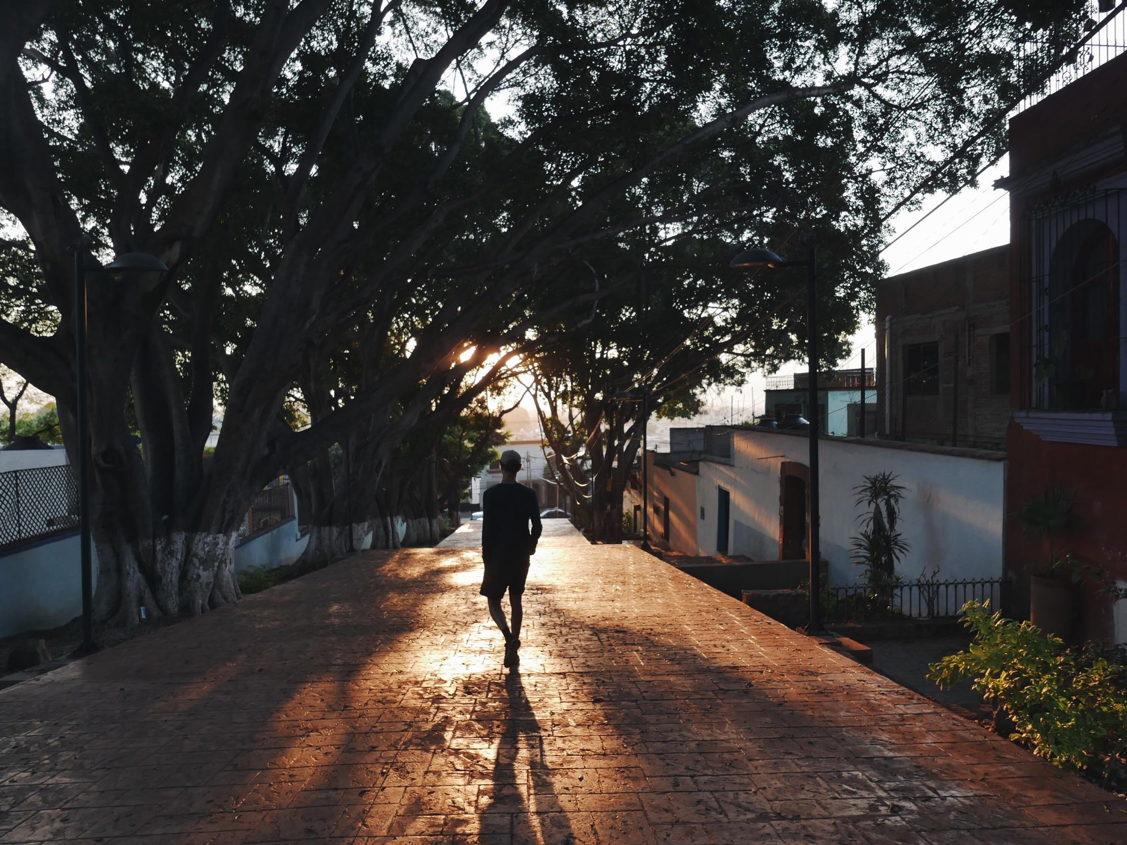 Oaxaca sunrise stroll.