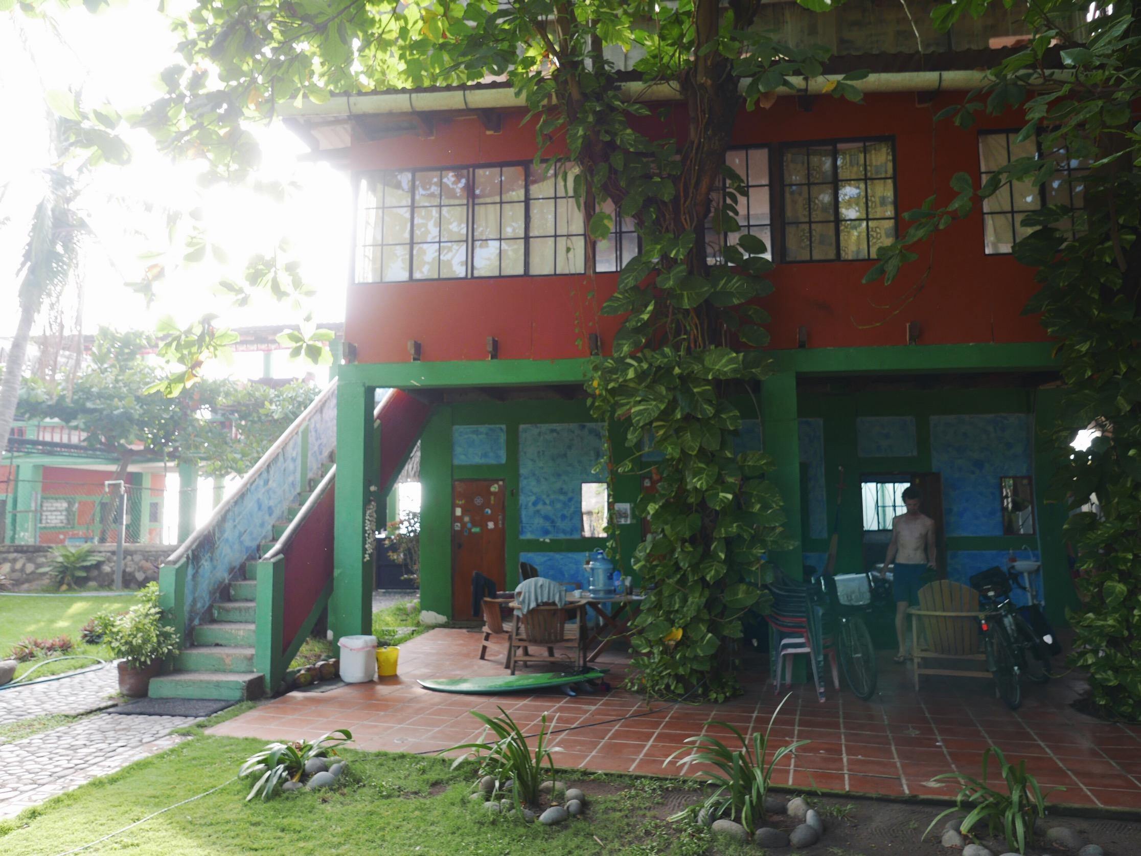 The host-ital. Recovery in the surf town, El Zonte, El Salvador.