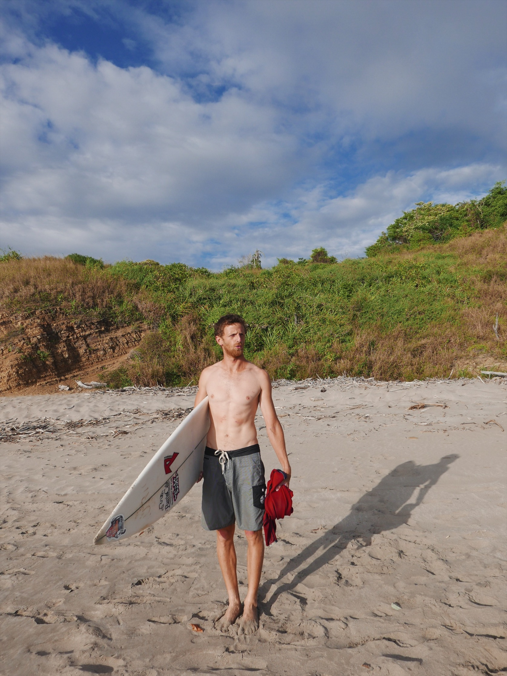 Wind-churned Nicaraguan water combined with a low BMI still necessitates neoprene.
