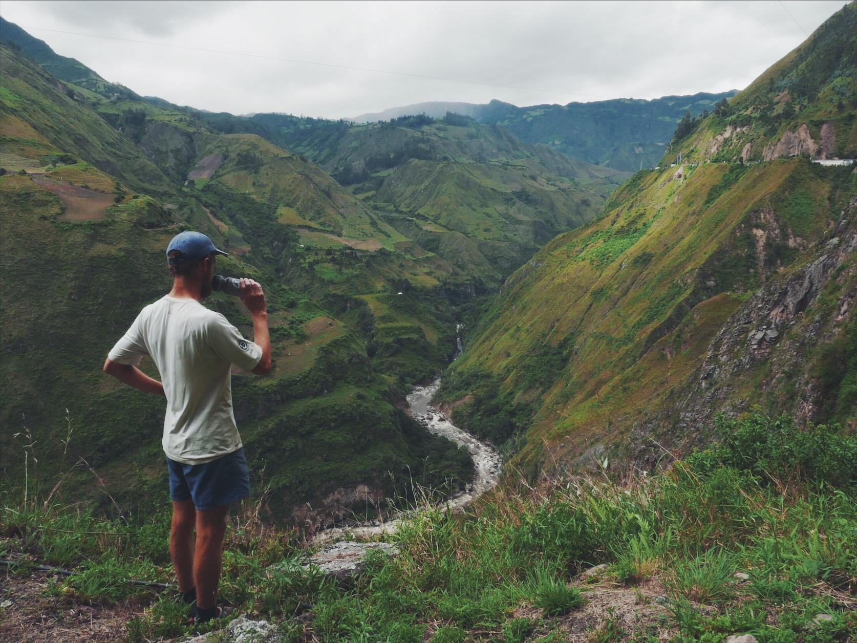 It's a long way to the top, if you want to get to Ecuador.