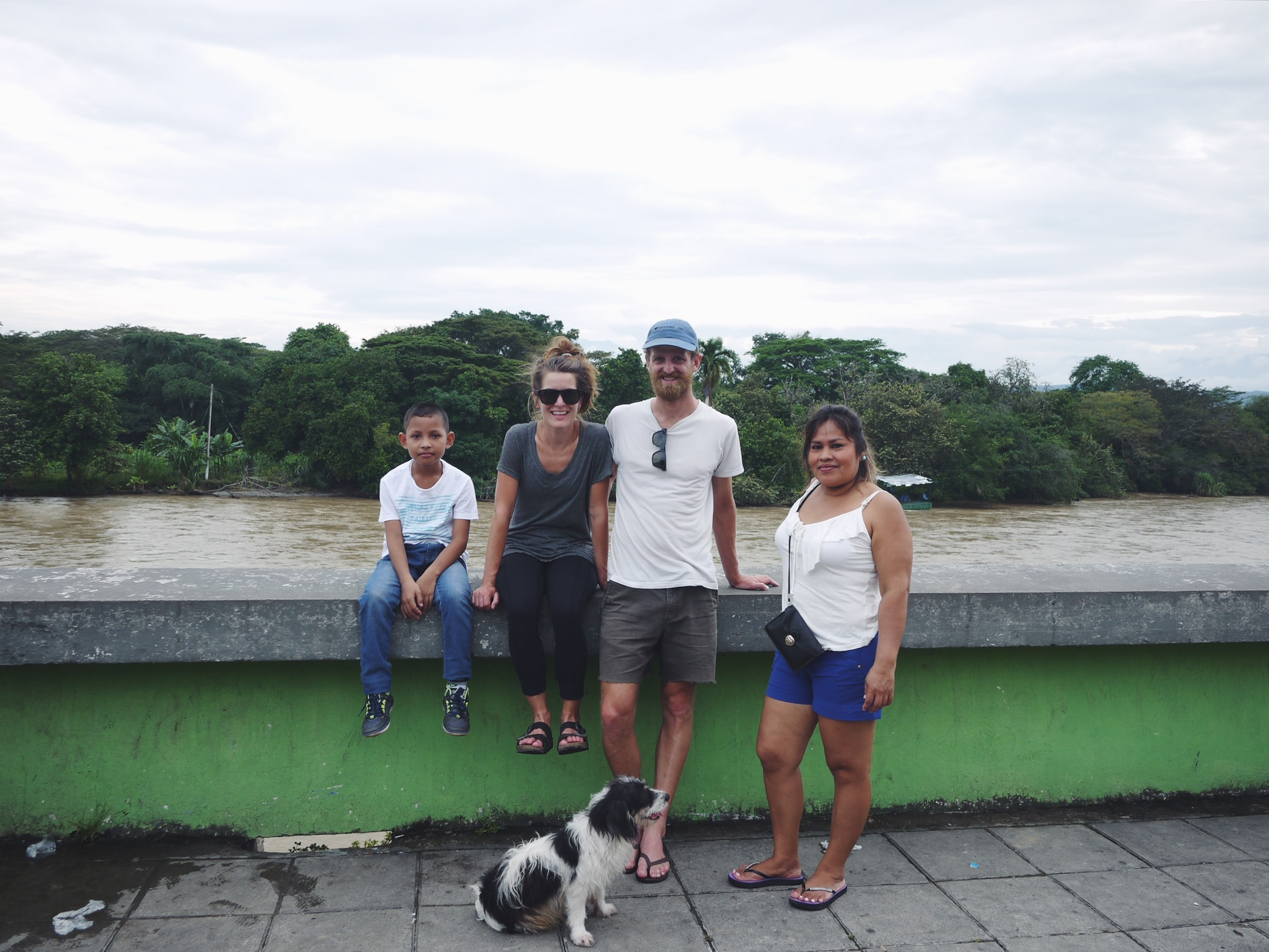 Our Neiva WarmShowers hosts took us on a walking tour to taste the street sweets and see the mighty Río Magdalena. Scooby came even though he was asked not to. The dog, not the kid.