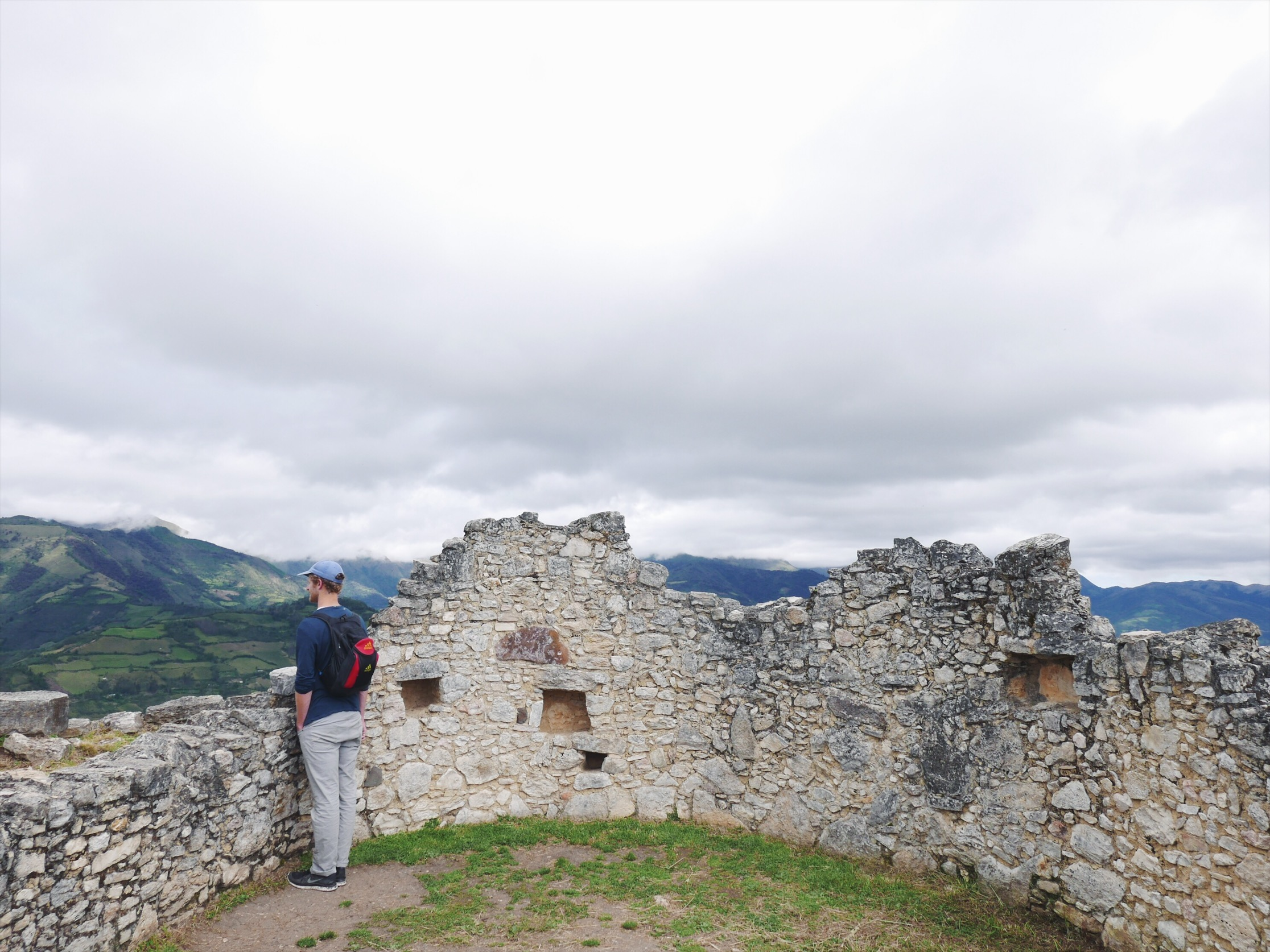 There are over 550 circular structures on site, home to some 3,000 inhabitants back in the day.