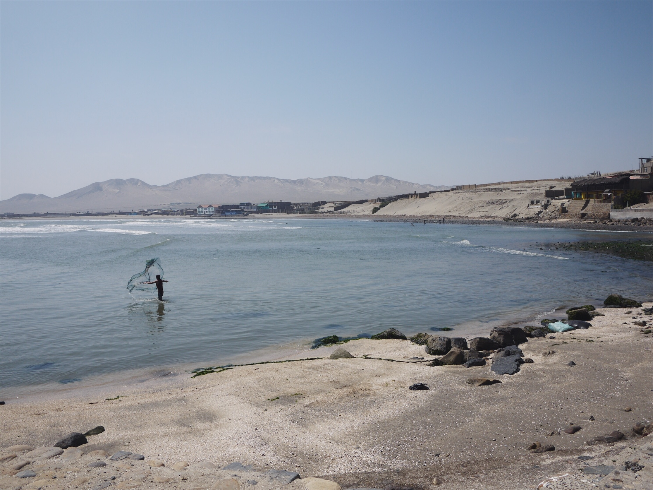 Fisherman. Puemape.