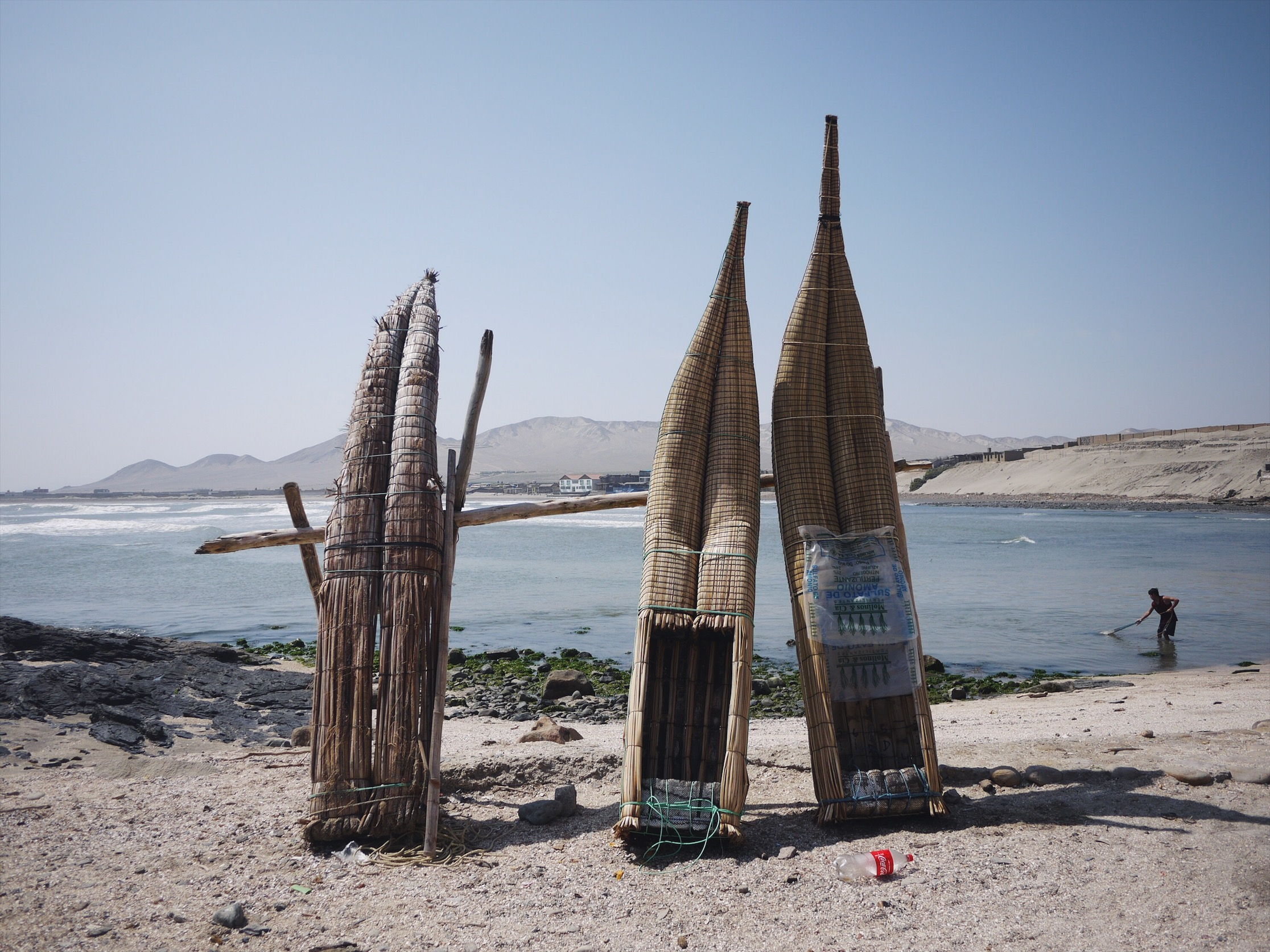 Fishing fleet. Puemape.