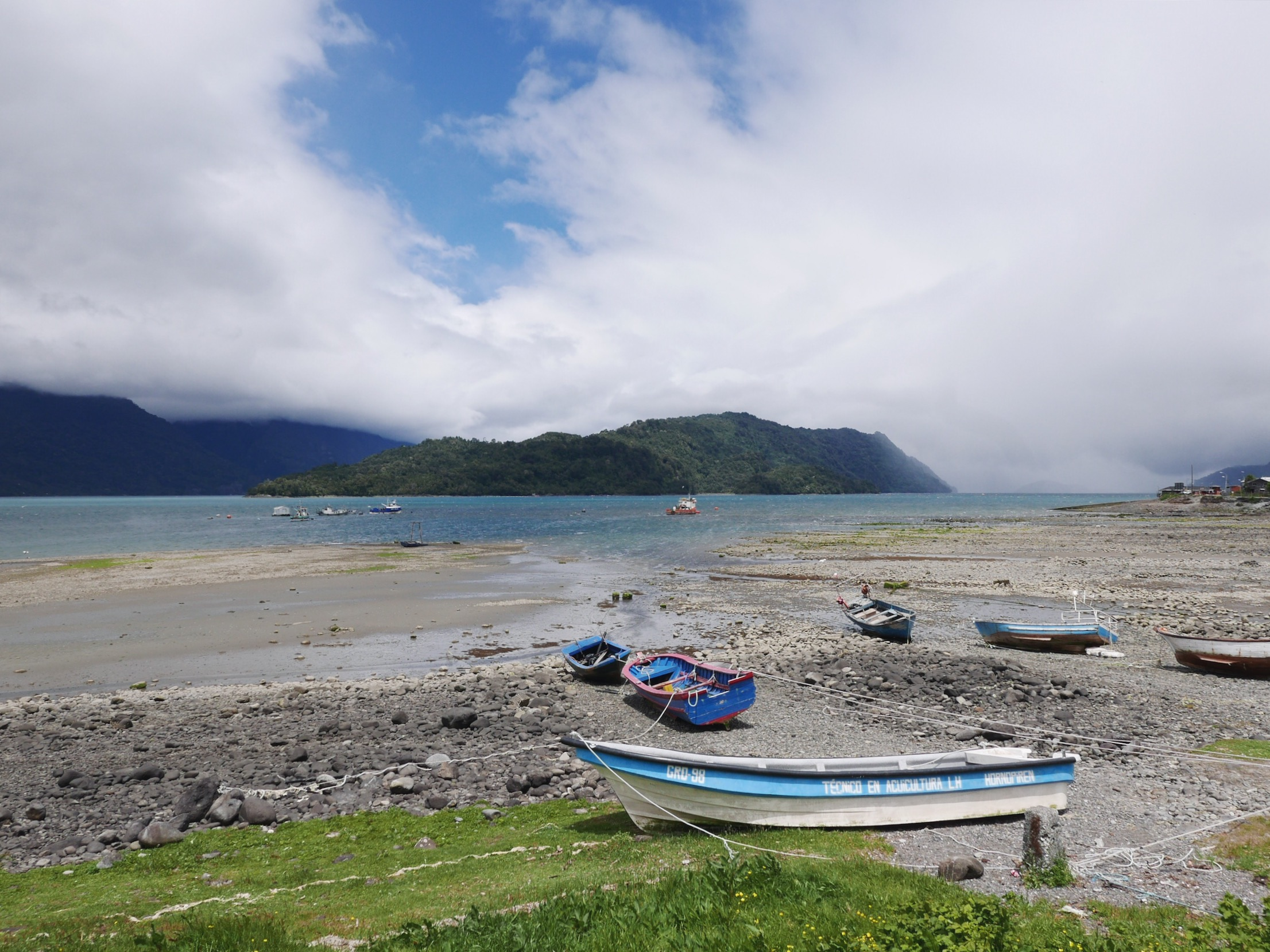 Endless inlets along the Carretera Austral.