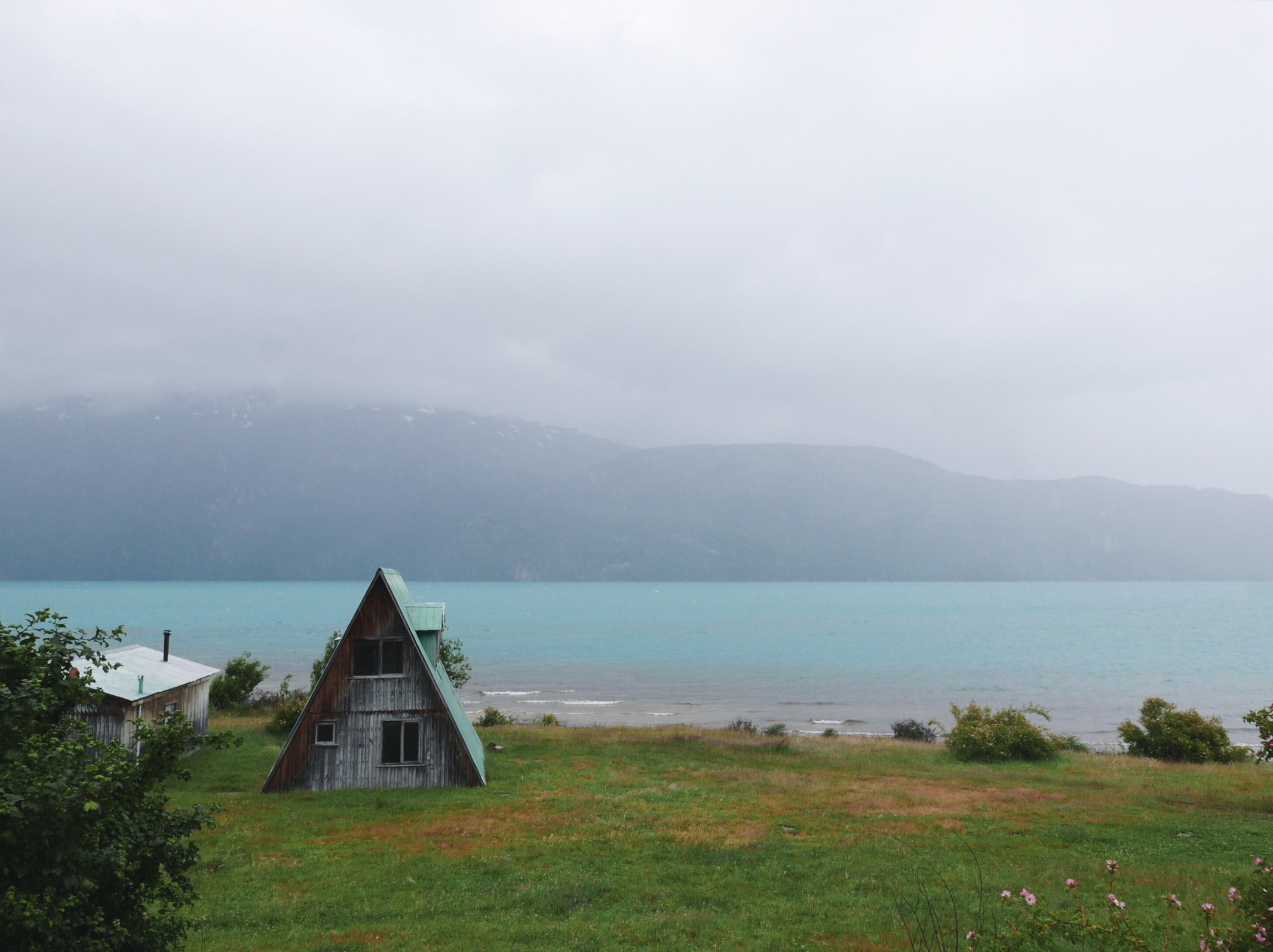 Christmas Day on Lago Carrera, Chile's largest and seemingly bluest lake.