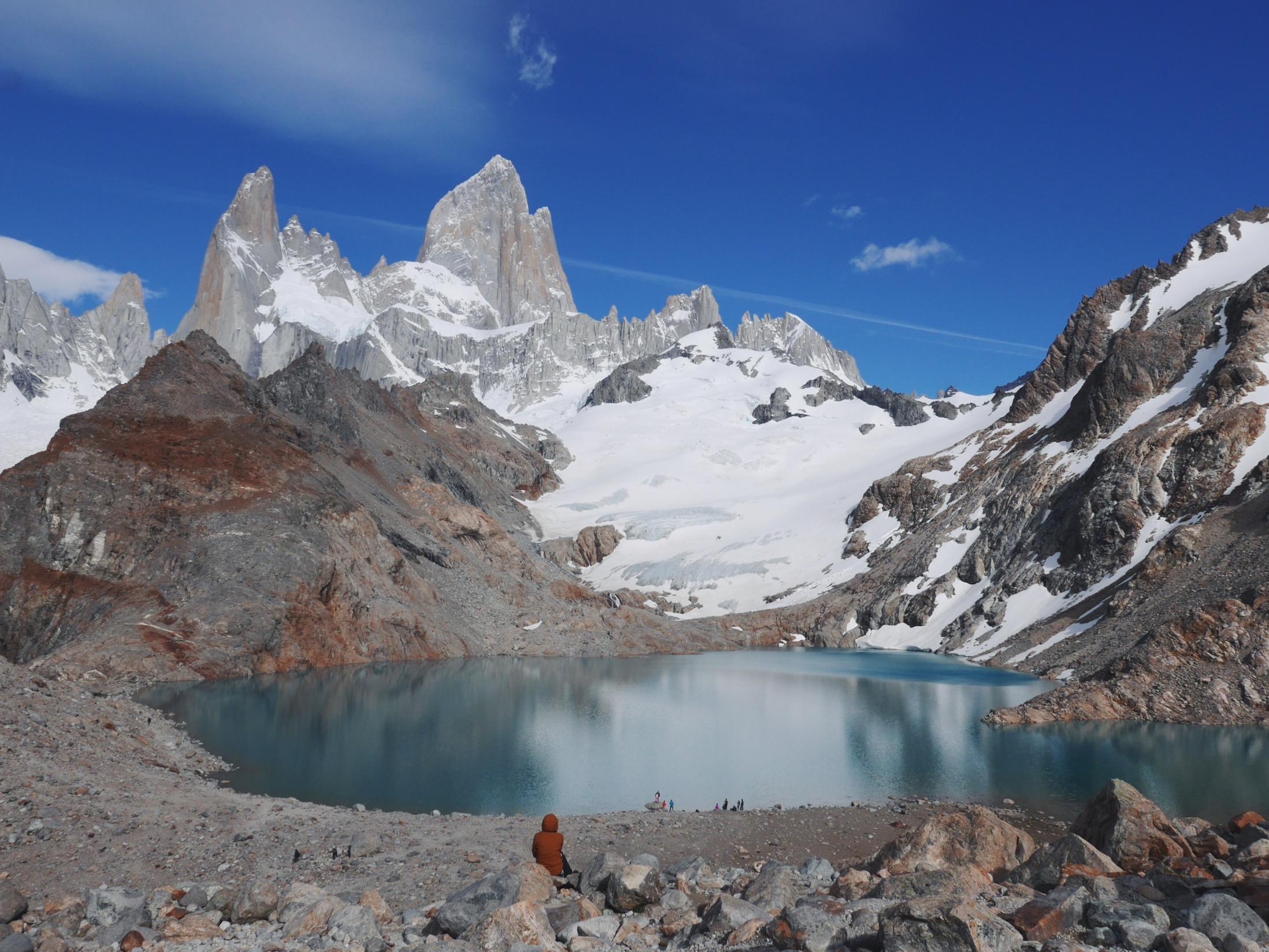 Laguna de Los Tres, Los Glaciares National Park.