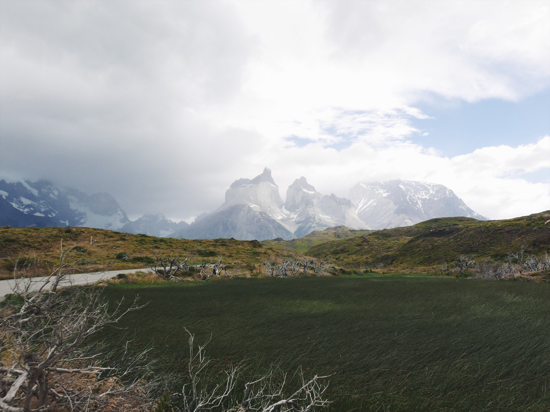 Cuernos Del Paine. Cuernos means horns.