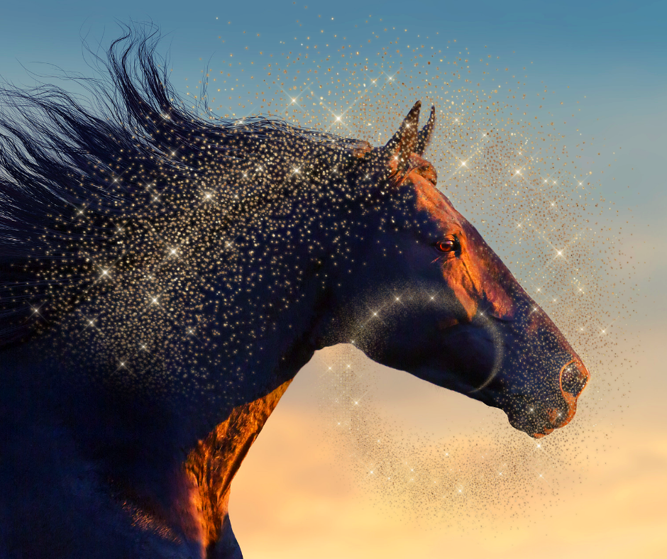 Horse:Have you been fighting to get your power back from someone or something that has been making you feel inadequate?Have you been feeling preyed upon by the expectations and burdens of others? -