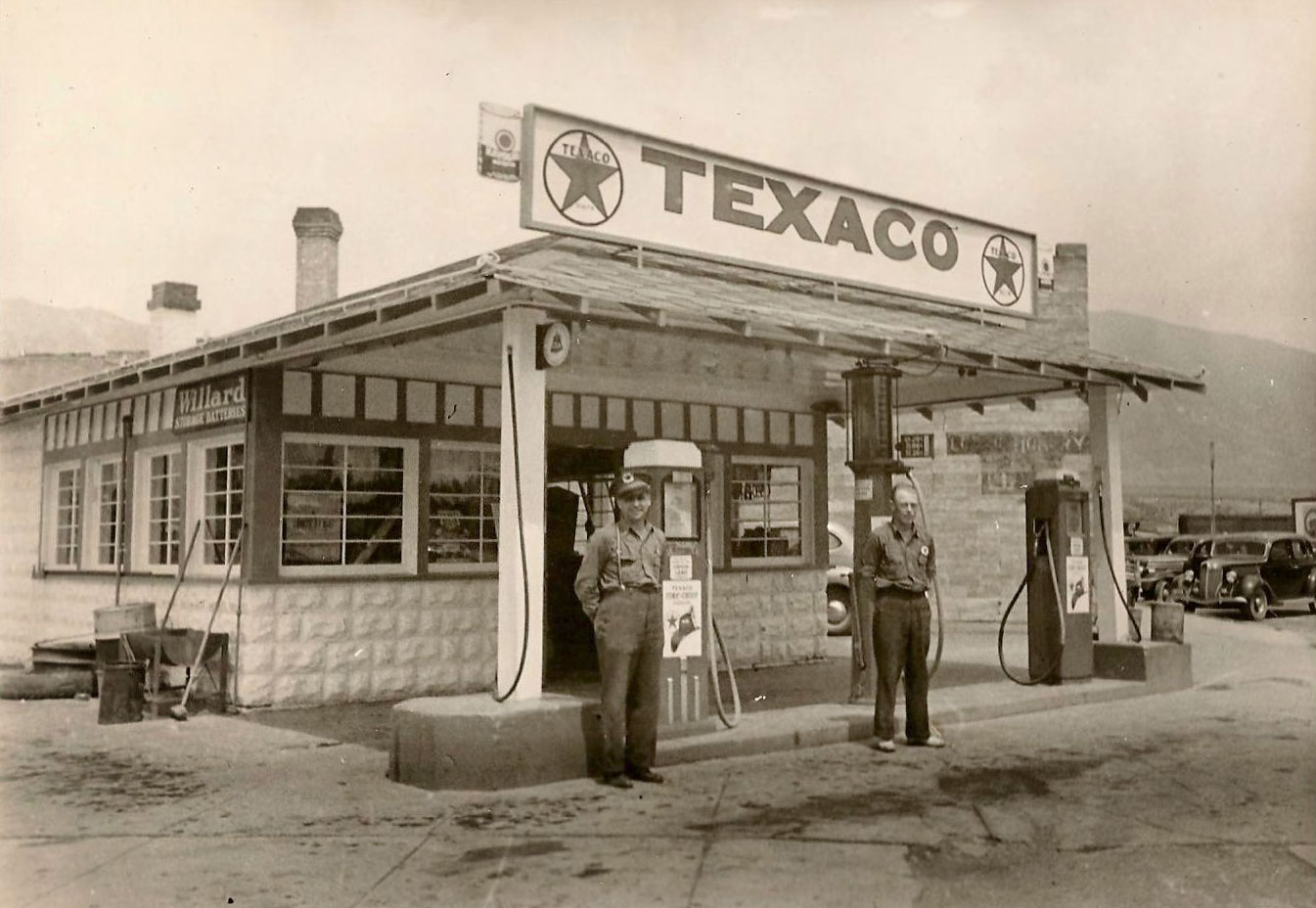 1930's Texaco Gas Station
