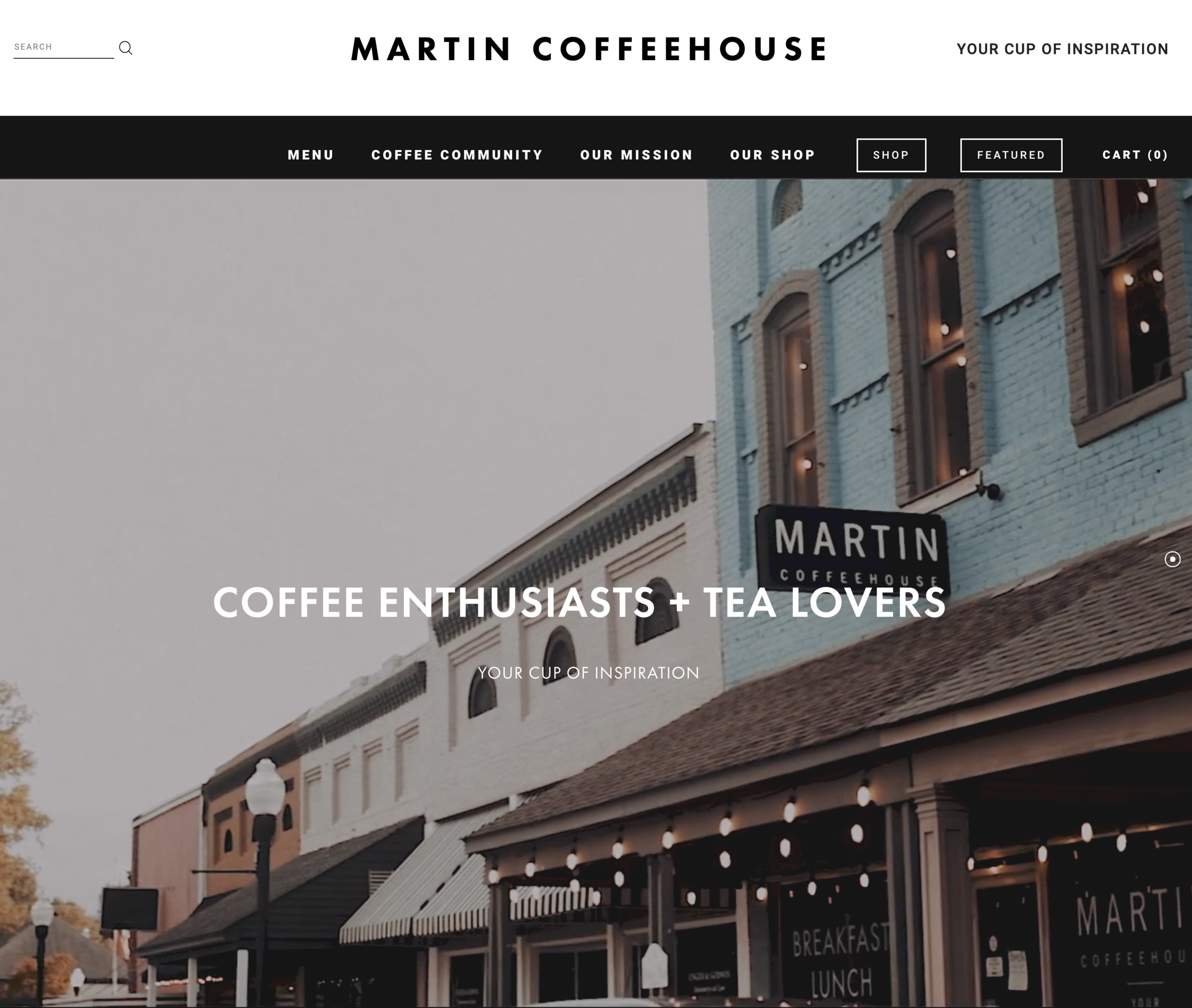 www.MartinCoffeehouse.com