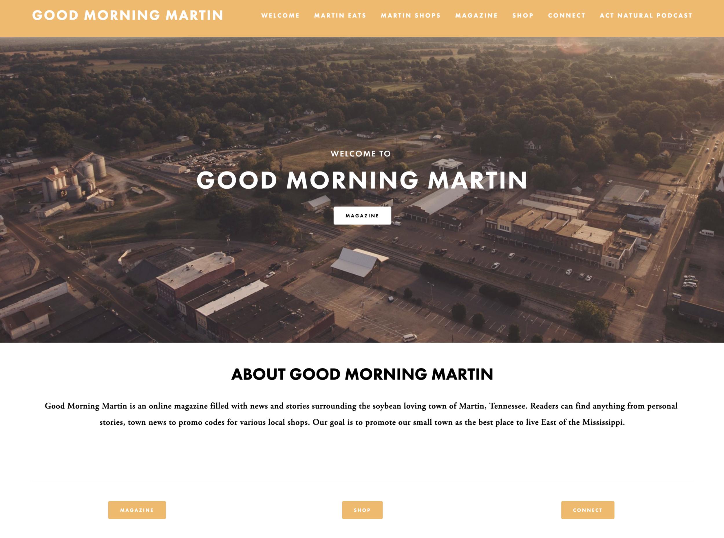 www.GoodMorningMartin.com